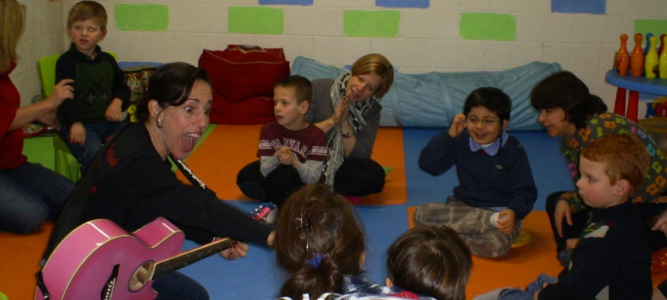 Children in Music Therapy Group
