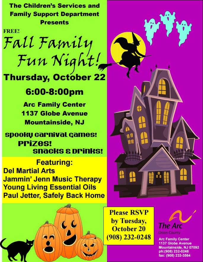 20151020 Family Fun Night